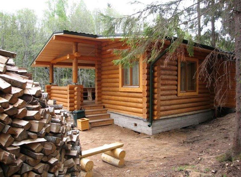 Как построить баню своими руками не из дерева 184