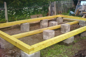Фундамент для бани 3х4