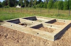 Фундамент бани
