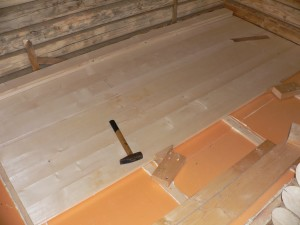 Обустройство листового покрытия