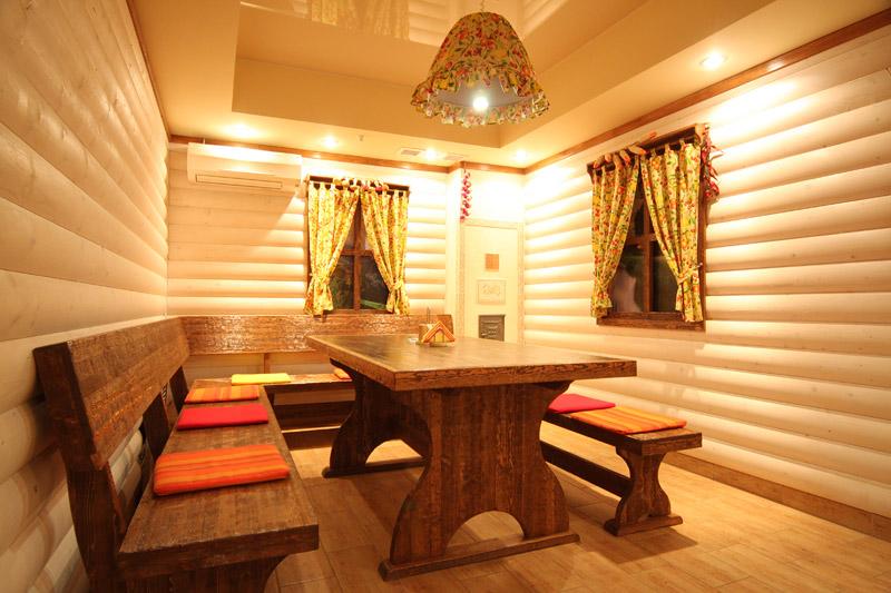 Фото интерьер комната отдыха бани внутри