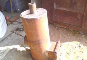 Печи для бани самодельные из металла