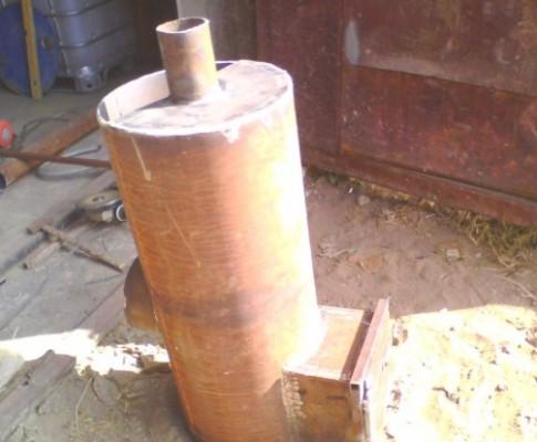 Самодельные банные печи из металла и трубы