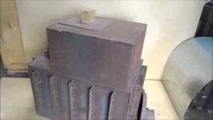 Банные печи из трубы своими руками схема и размеры фото 595