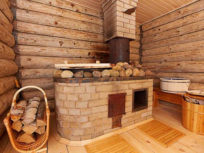 Баня на дровах своими руками фото