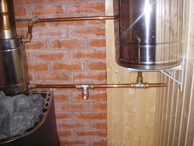 Теплообменник для банной печи на трубу своими руками теплообменники для сернокислотных цехов