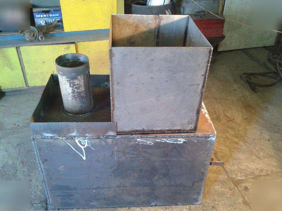 Котлы для бани из металла своими руками