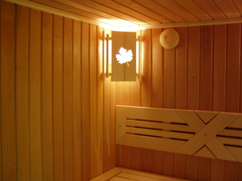 Светильник в баню своими руками фото