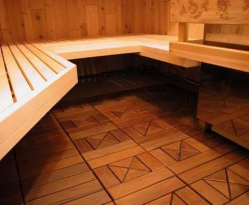 Чем лучше всего покрывать полы в бане