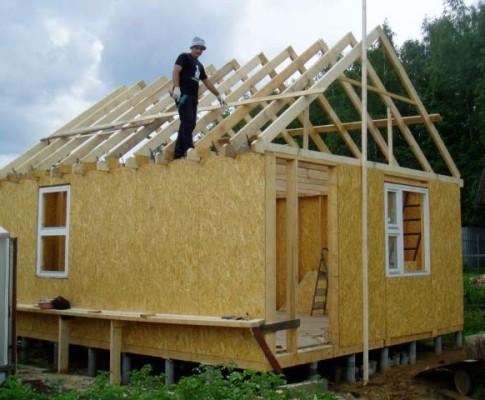 Как построить баню из СИП-панелей