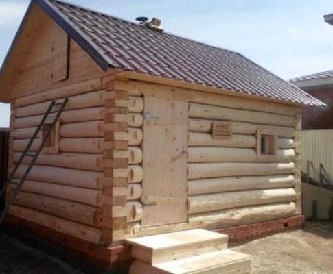 Как построить баню из осины своими руками