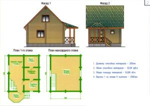 построить двухэтажную баню своими руками