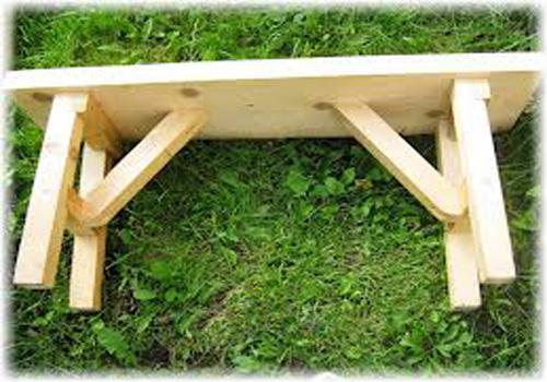 Сделать лавку из дерева в баню