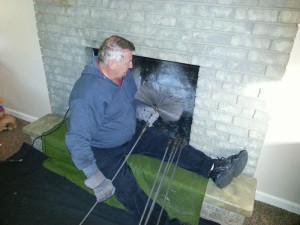как можно прочистить дымоход в бане от сажи