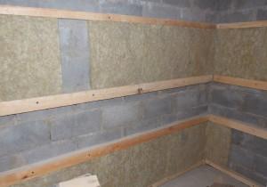 Пошаговое утепление бани из керамзитобетонных блоков изнутри