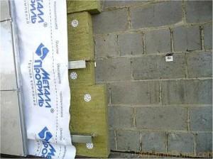 Пошаговое утепление бани из керамзитобетонных блоков
