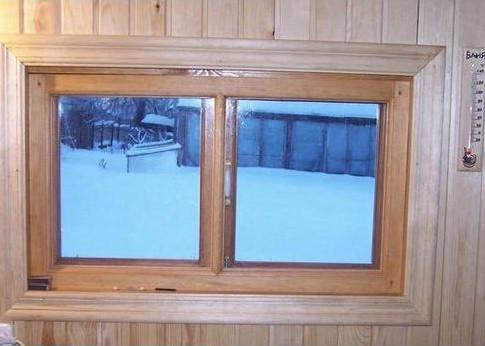 Как правильно выбрать окна в баню