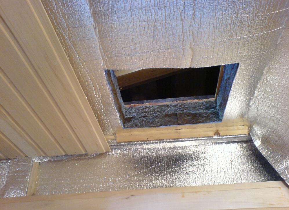 Потолок в бане утепление пароизоляция