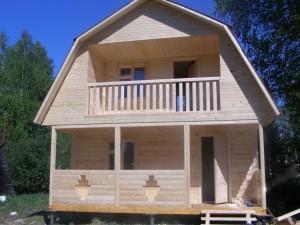 построить двухэтажную баню