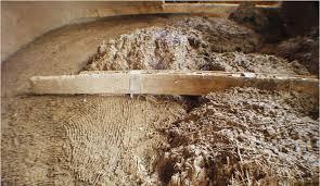 Современные способы засыпки потолоков в бане