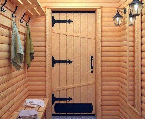 Как выбрать дверь для бани или сауны